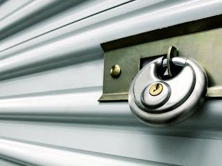 Car storage unit security