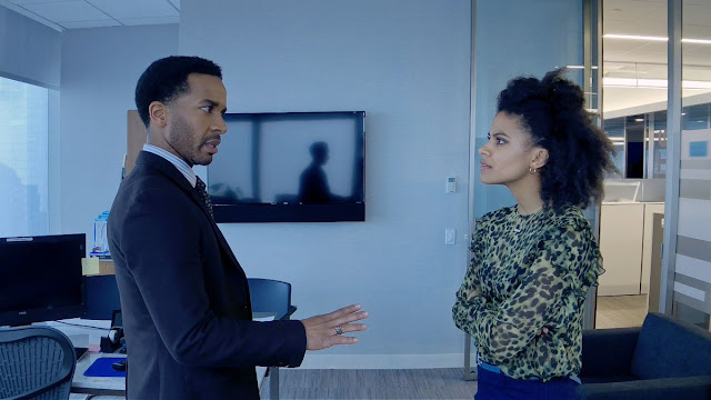 André Holland Zazie Beetz Steven Soderbergh | High Flying Bird Netflix