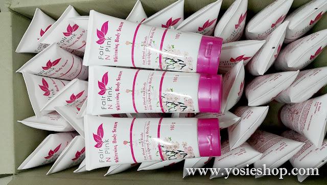 Ready Stock Fair N Pink Serum Body Whitening 100% ORIGINAL