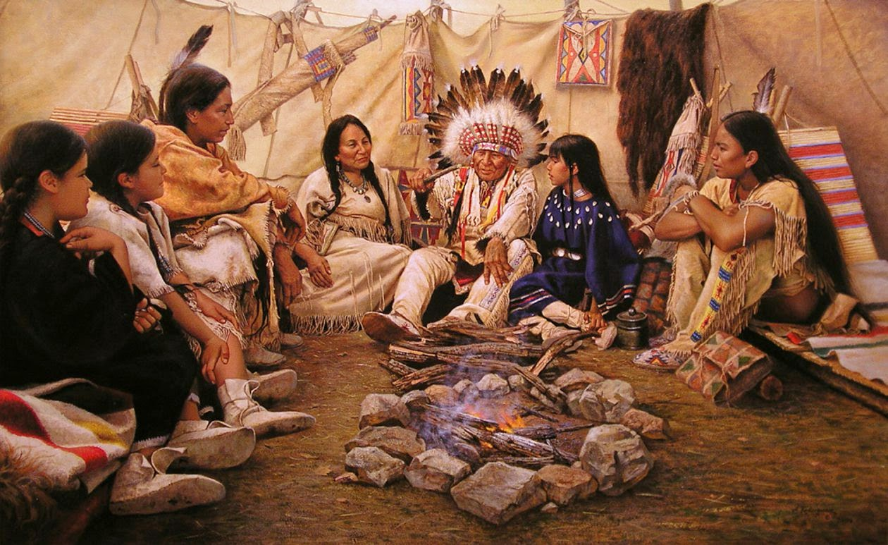 White Wolf 15 Native American Family Quotes And Values