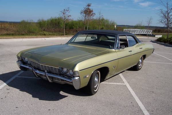 Daily Turismo: Acacado Sleeper: 1968 Chevrolet Impala Sedan