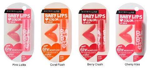 Review Maybelline Baby Lips  Loves Color Balm - Cherry Kiss