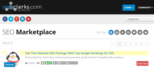 make money online on seoclerks