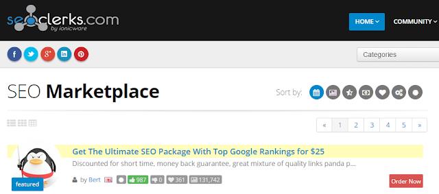 make money online on seoclerks