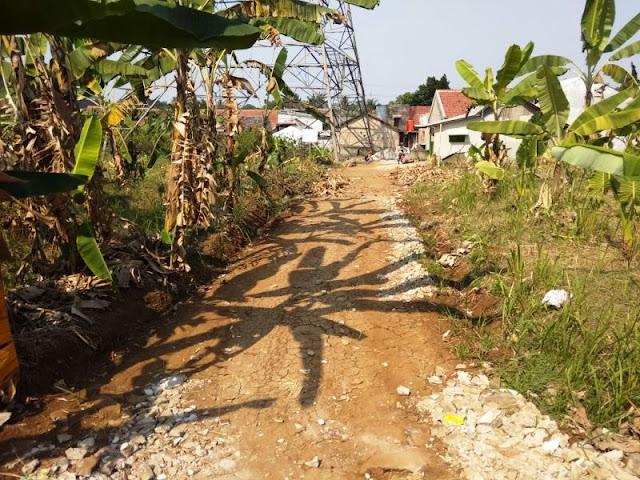 tanah dijual di depok, jalan krukut, limo