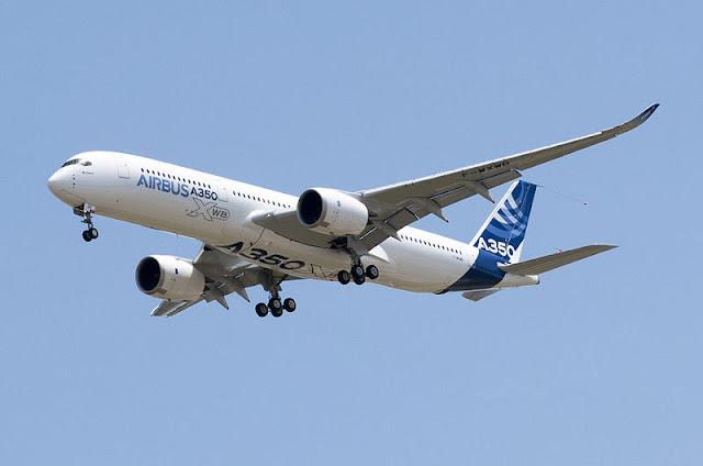 Gambar Pesawat Airbus A350 04