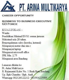 Karir Lowongan Kerja PT Arina Multikarya Bandung Terbaru 2019