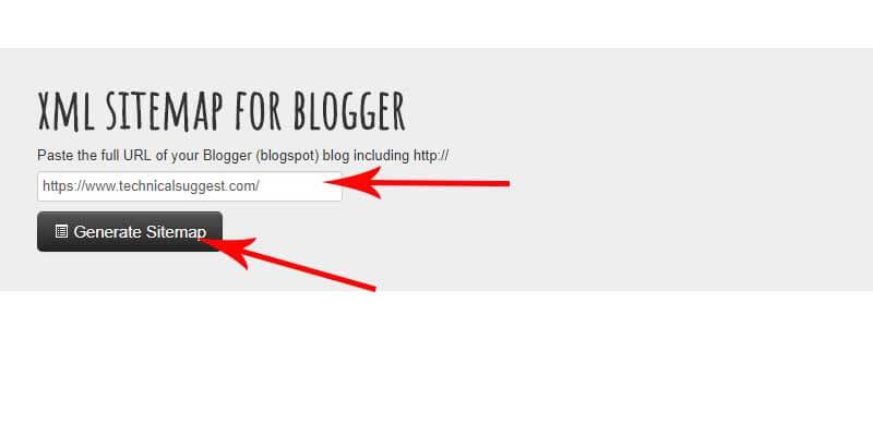 Blogger me XML sitemap kaise Generate kre |
