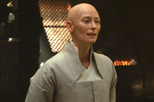 If anyone can make you believe this nonsense, it's Tilda Swinton
