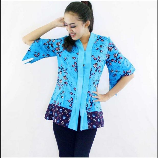 Model Baju Muslim Batik Remaja Terbaru 2016