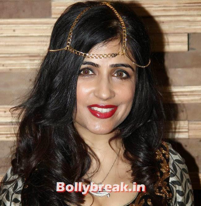 Shibani Kashyap, Beautiful Bhagyashree, Gauhar, Tara, Perizad, Divya at Cancer Fundraiser Fashion Show