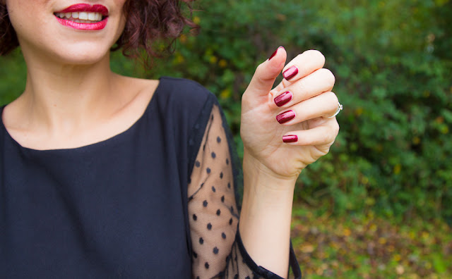 robe - anne - durrieu - vernis - rouge