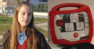 16χρονη Λαρισαία έφτιαξε εφαρμογή που εντοπίζει απινιδωτές και σώζει ζωές