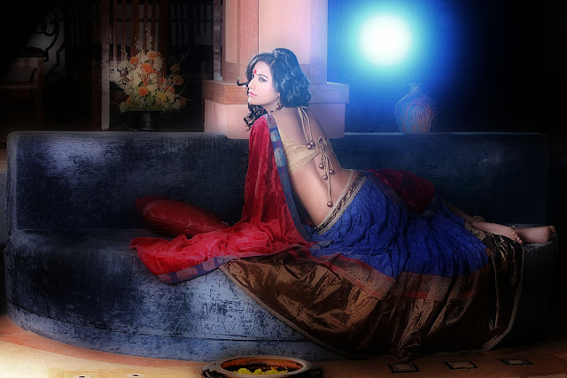 Poonam Pandey hot 2014 lehnga shoot