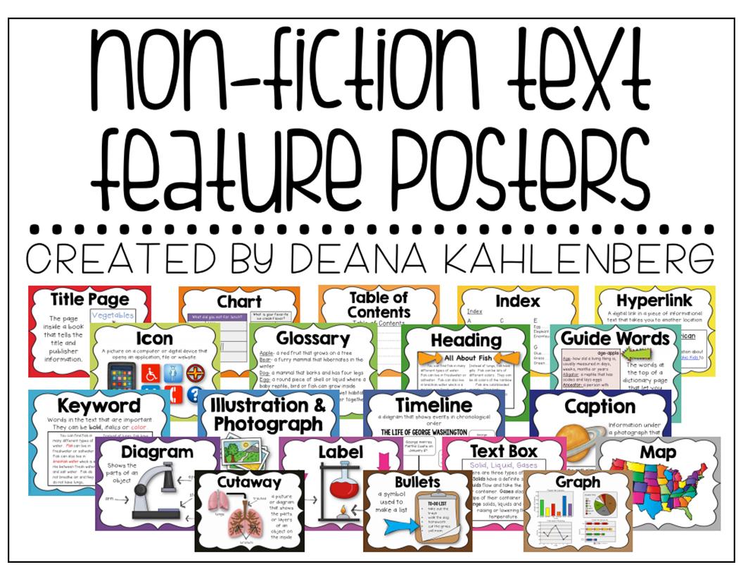 Fiction Vs Nonfiction Teaching Ideas