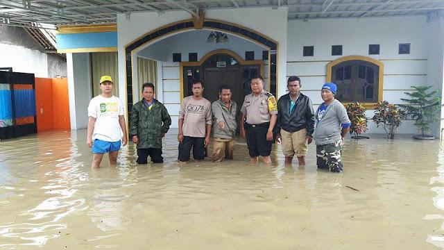 Tambun Gedong Desa Srimukti Dilanda Banjir