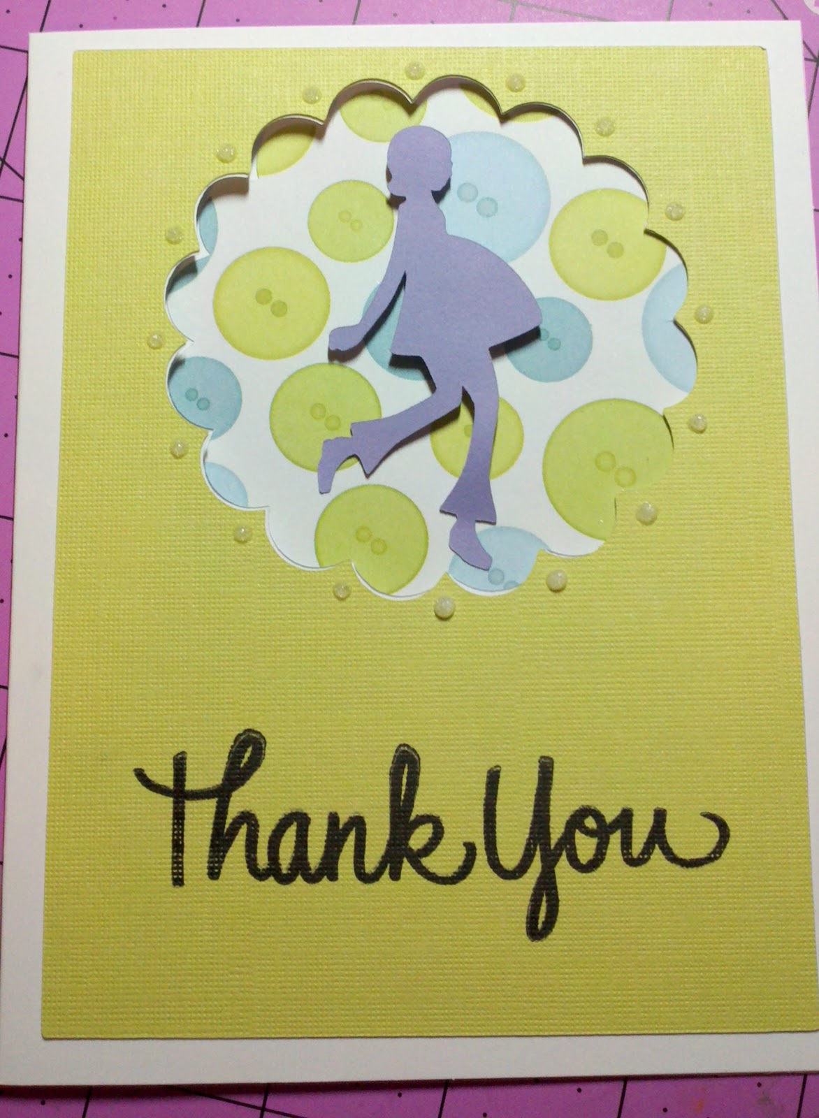 Crafty Creations By *~Danielle~*: Baby Shower Thank You Cards
