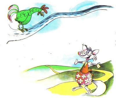 fabula la zorra y el gallo