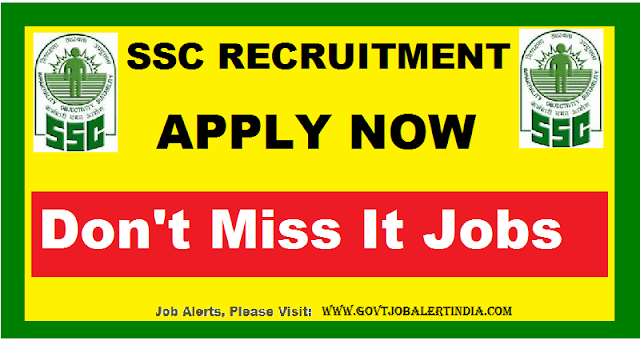 SSC Recruitment (2019) – All India Multi-Tasking Staff (MTS) 8,000 Vacancies Open, Apply online before 29-05-2019