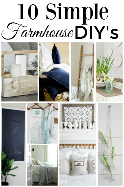 DIY farmhouse projects