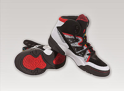 093e43f3f93 This is the Adidas Mutombo in the Running White Black Light Scarlet  colorway. The Adidas Mutombo is the signature sneaker for the 4-time NBA  Defensive ...