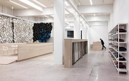 Inspirationl Design Interior Design Of Kvadrat Showroom