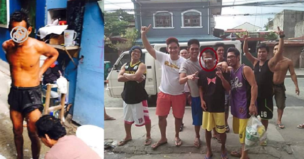 Barkada saves 'taong grasa' friend even if he couldn't recognize them anymore