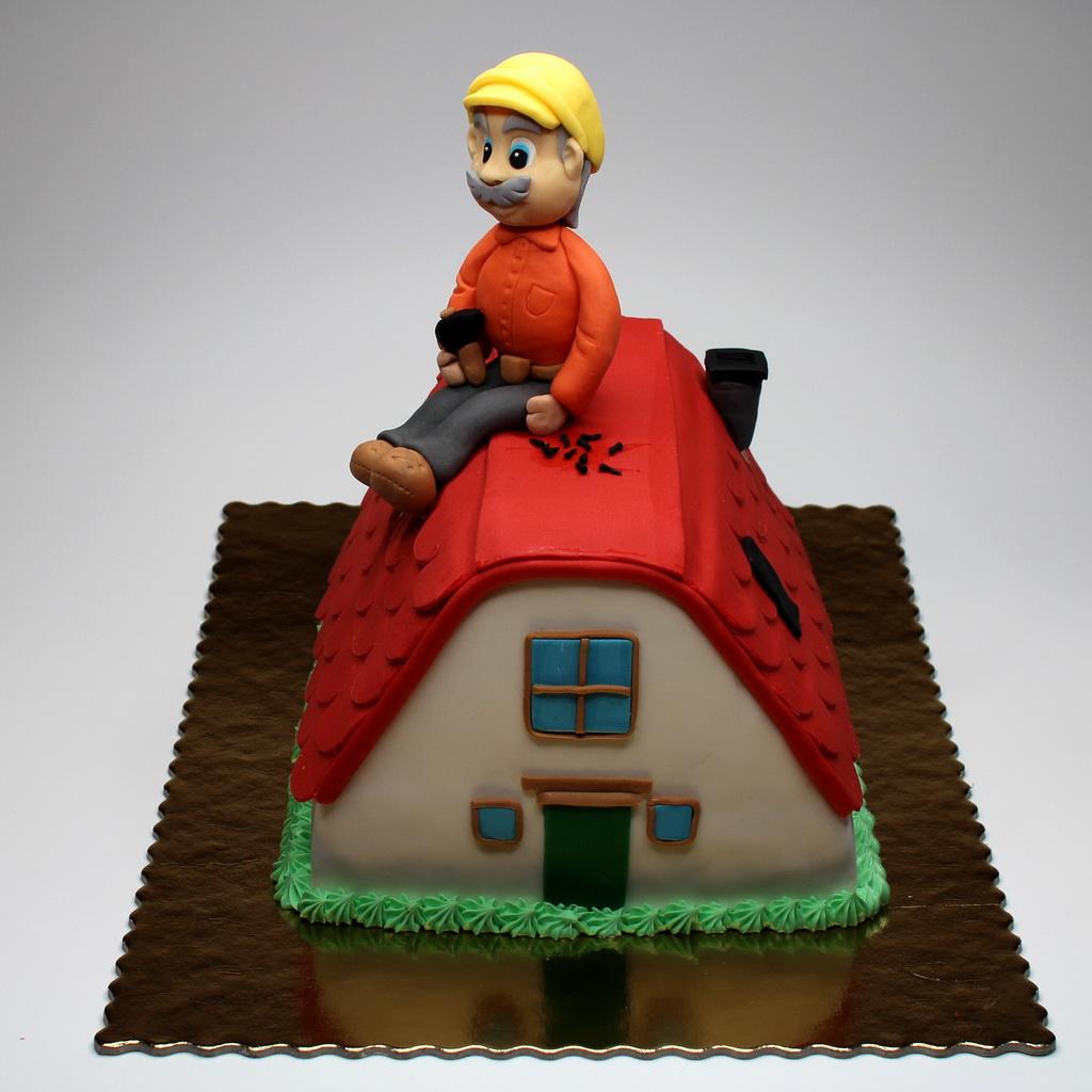 Roofer Birthday Cakes