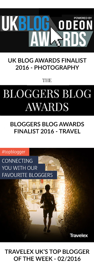 Travel Blogger UK Blog awards