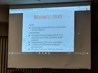 ECDC - Elementary page of math update