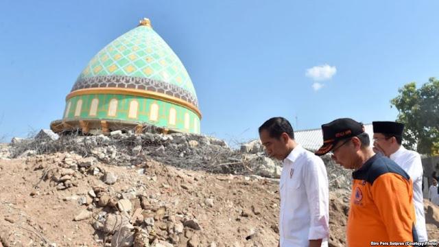 MPR dan DPR Kompak Tagih Janji Jokowi Soal Dana Bantuan Renovasi Rumah Gempa Lombok
