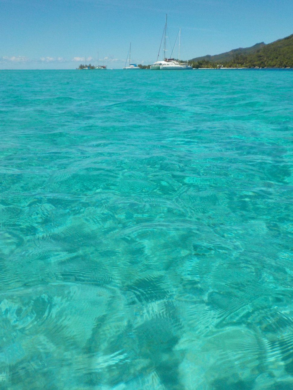 Lagon bleu de Moorea