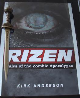 Portada del libro Rizen, de Kirk Anderson