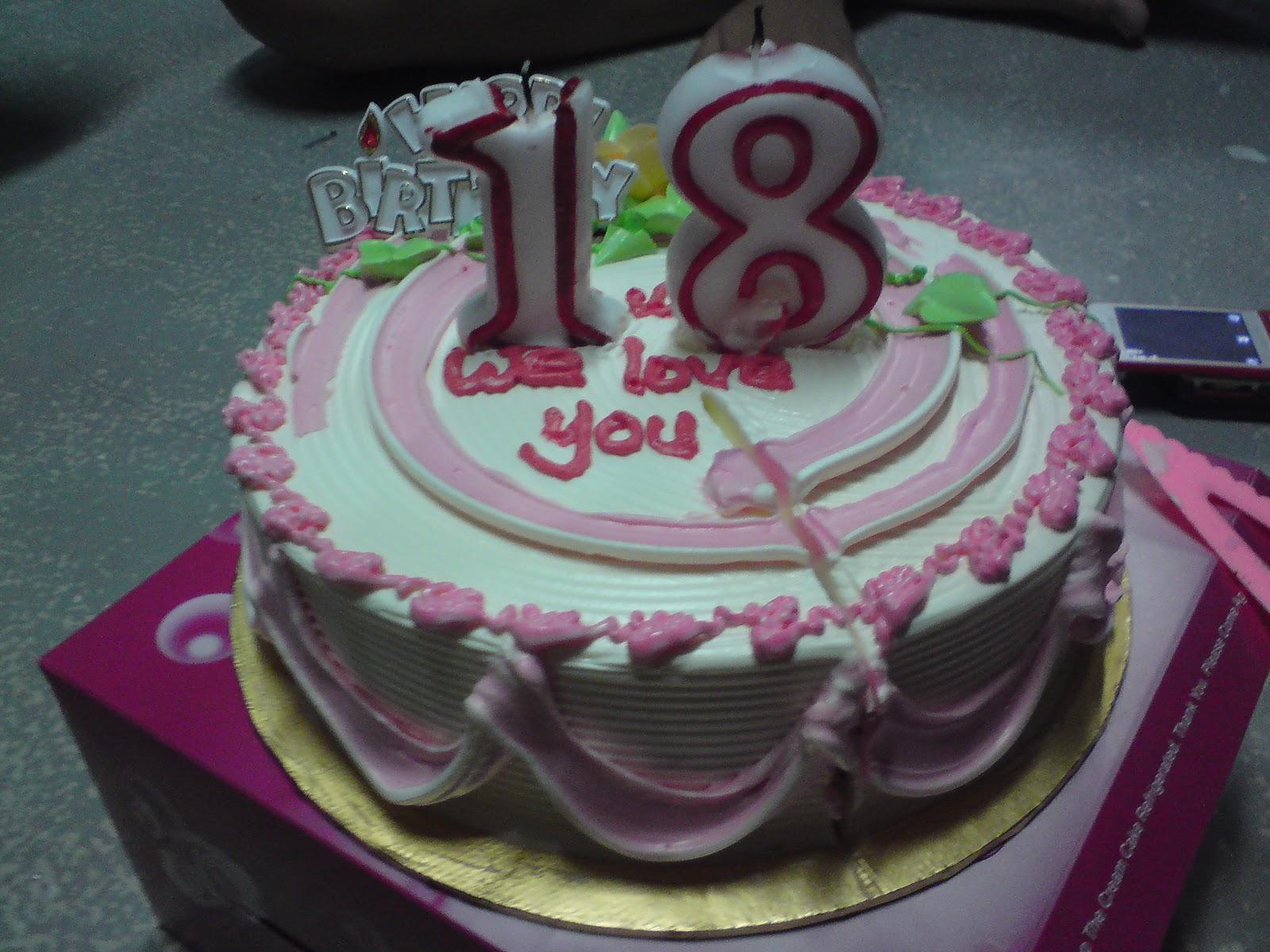 winter confectionery  birthday cakes