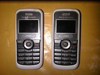 Hape Jadul Sony Ericsson J100 Seken Mulus