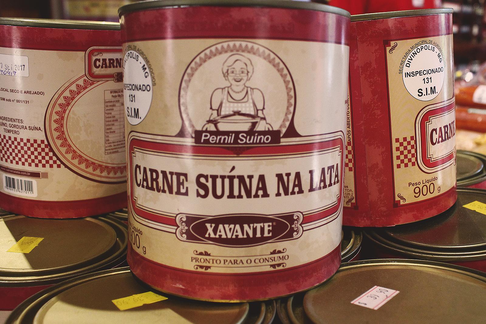 carne enlatada brasileira