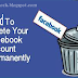 Methods To Permanently Remove Your Facebook Account