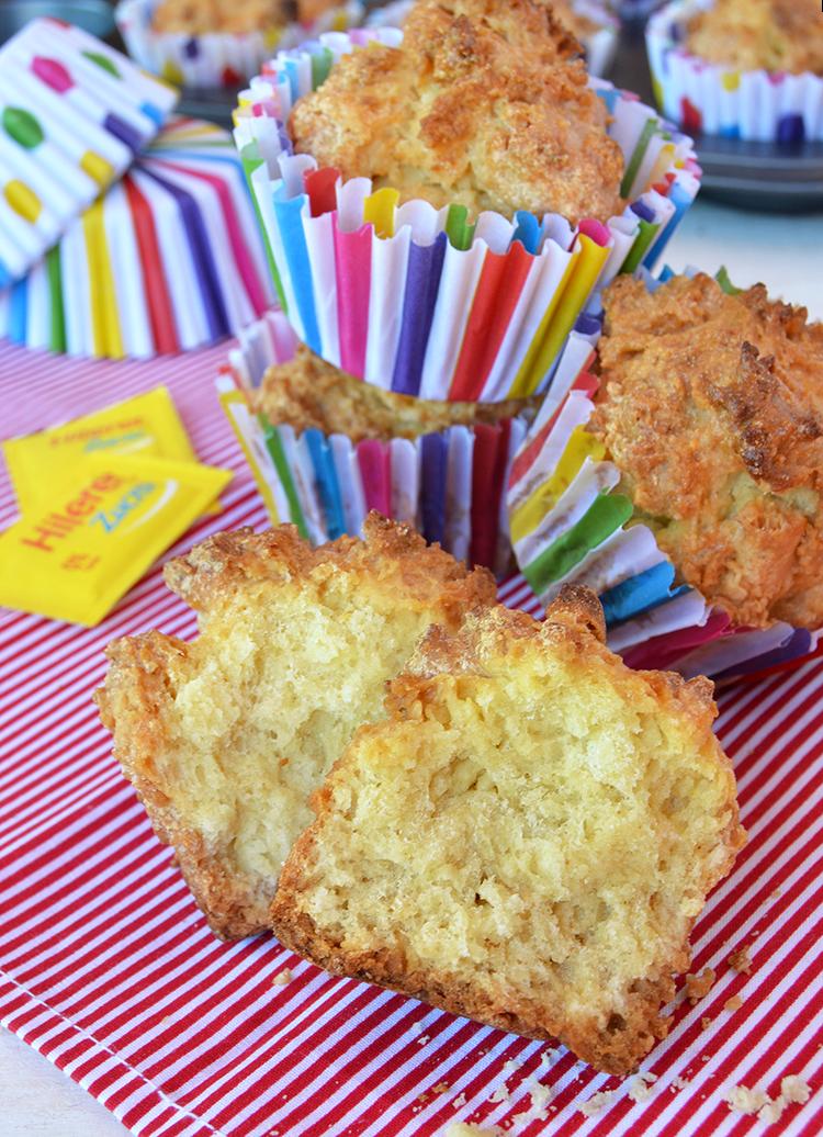 Muffins de limón sin azúcar