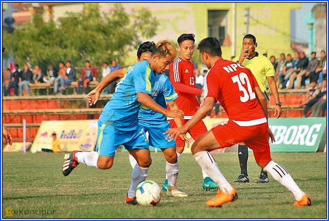 Nepal Police Club (NPC) sent Darjeeling United packing
