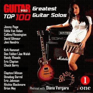 Top 100 Greatest Guitar Solos [Rock] [320 Kbps] - Identi