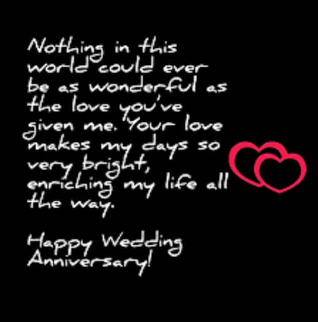 Romantic wedding anniversary images