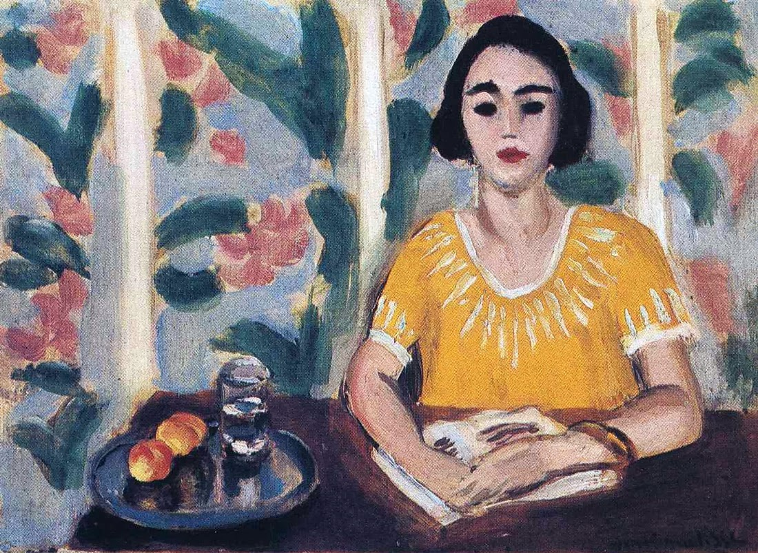 Henri Matisse - Woman Reading in a Garden, 1923
