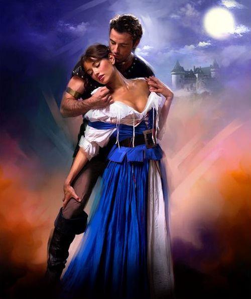 Jon Paul Cover Art For Romance Catherine La Rose