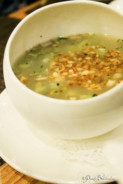 Amazing Burnt Garlic Soup