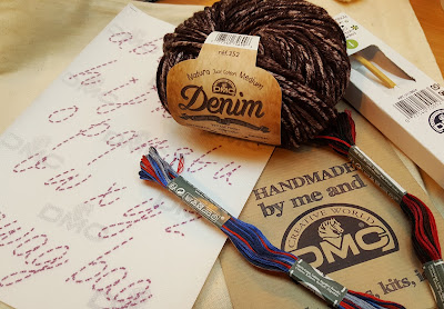 DMC embroidery and yarn at the CHSI Show