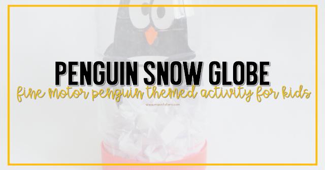 Penguin Snow Globe