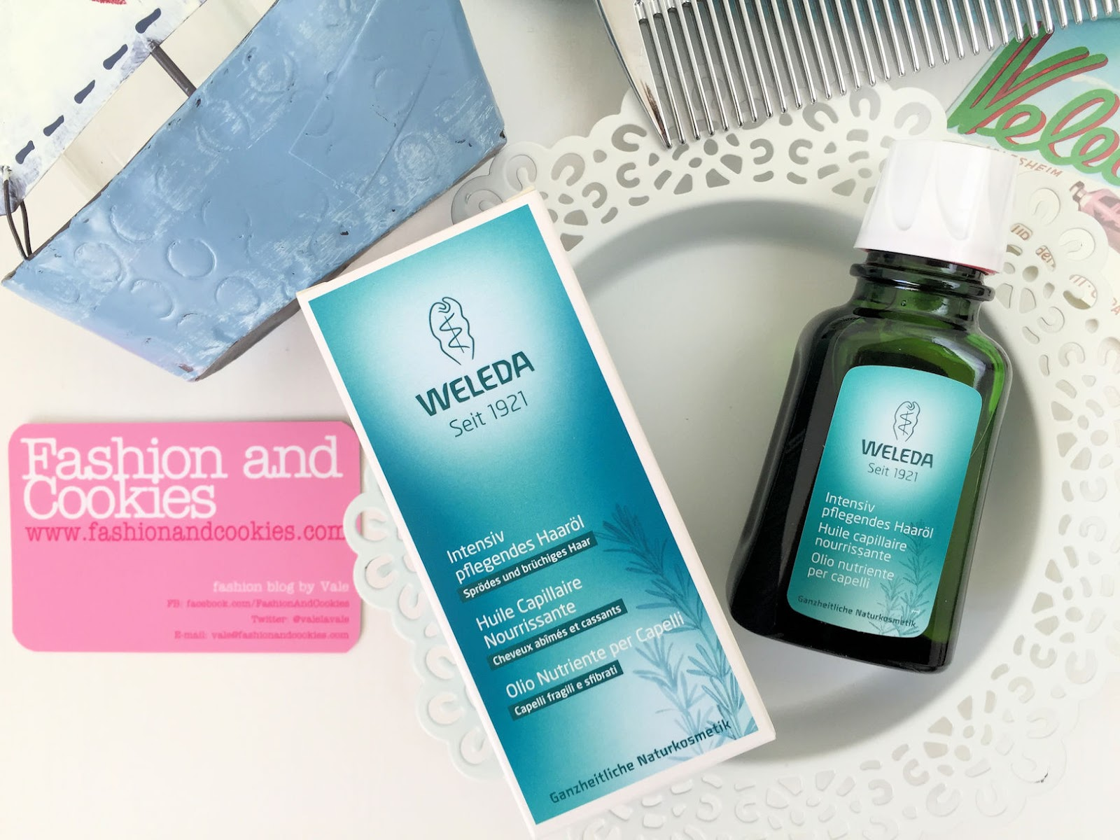 Weleda olio nutriente per capelli Fashion and Cookies beauty blog, beauty blogger