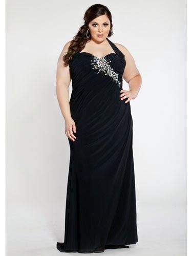 Fotos de gorditas con vestidos de fiesta