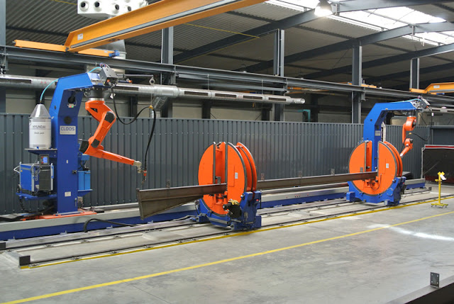 Роботизация сварочного производства балочных металлоконструкций