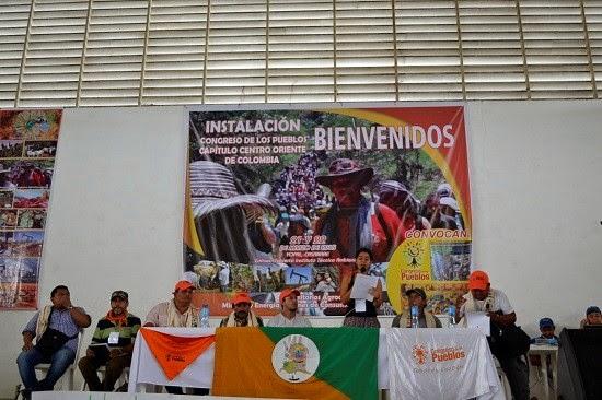 Declaración Política Instalación Congreso de los Pueblos.